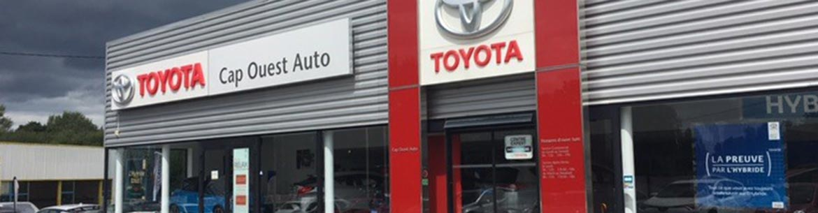 Photo de la concession Cap Ouest Auto Toyota à Morlaix
