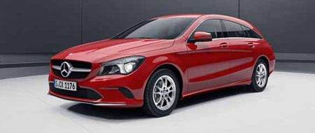 CLA Shooting Brake profil avant