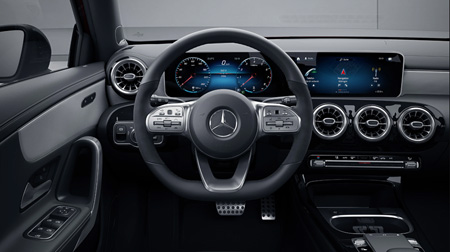 Mercedes-Benz Classe A Berline tableau de bord